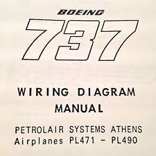 boeing manual boeing 737 pl471 pl490 wiring diagram manuals a 2 vol set