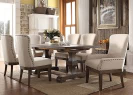 extraordinary rustic dining set at acme landon 9 piece usa warehouse inside sets on prepare 0