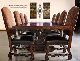 tuscan long extension dining table
