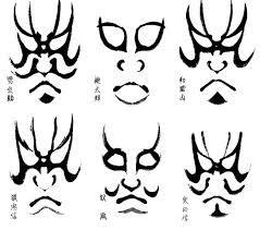 kabuki costume and makeup. giving mirth: kabuki makeup masks costume and g