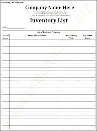 Plant Inventory Template Craft Inventory Spreadsheet Business