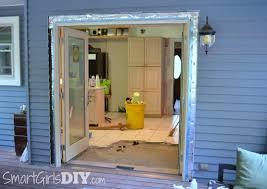 full size of how to install a sliding patio door in a brick wall how to