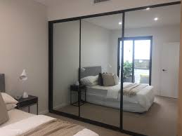 image mirrored closet. 3 Panel Sliding Closet Doors Mirrored Bifold Lowes For Bedrooms Image