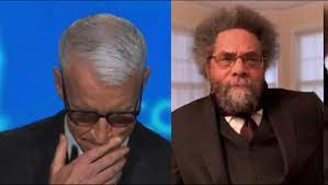 Anderson Cooper tears up over Cornel ...