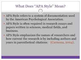 Basic Apa Style Apa Style Some Basic Elements Ppt Video Online Download