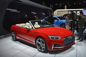 2018 audi cabriolet. Wonderful Cabriolet 2018 Audi S5 Cabriolet Has One Of The Best Interiors In Detroit And Audi Cabriolet I