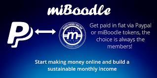 Getting Paid Monthly Getting Paid By Paypal Or In Miboodle Tokens Just For Using Social