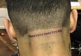 Il Nuovo Tatuaggio Di Fabrizio Corona è Per Maurizio Costanzo Style 24