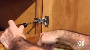 How To Use Adjustable Cabinet Door Hinges and Drawer Guides - YouTube