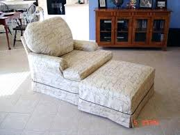 armchair and ottoman slipcovers amazing oversized chair with regard to 5