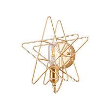 Dekoratives Licht Der Pentagram Wandleuchte Led Geeignet Geeignet