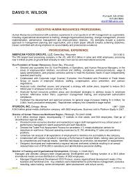 Sample Resumes For Sales Executives With Hr Generalist Resume