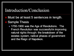 essay issues french revolution ppt 3 introduction conclusion