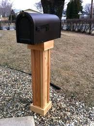double mailbox post plans. Build Mailbox Post Your Own Cedar Paint White Or Black . Double Plans S