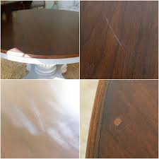 if it was a veneer then the next mystery was the type of wood veneer the tabletop had a very thick shiny gly varnish the tabletop had several deep