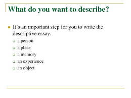 descriptive writing essay gravy anecdote descriptive writing essay