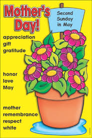 Mother Day Chart Mothers Day Holiday Word Bank Printable Charts And Signs
