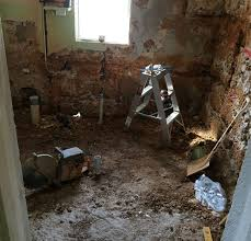 tiling an uneven floor