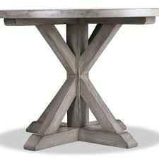 artistic dining room furniture medium yellow wood standard pedestal vintage oversized square bench seating laminated silver reclaimed round