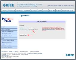 Instructions For Submission Of Final Full Paper And Ieee Copyright