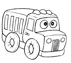 Auto Kleurplaten Vrachtauto