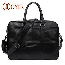 <b>JOYIR Genuine Leather</b> bag Business <b>Men</b> bags Laptop Tote ...