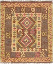 main unique loom 3 5 x 4 kilim maymana rug photo