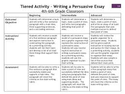 Persuasive Essay Rubric Nys Grade 6 8 Expository Writing Rubric 6th Informational Opinion