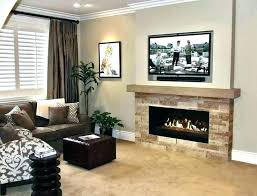 gorgeous living room chimney ideas fireplace tv above