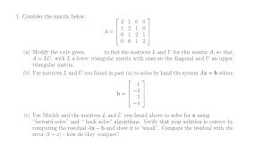 matlab expert matlab cody solutions com matlab programming  in serious need of matlab help function l u com expert answer