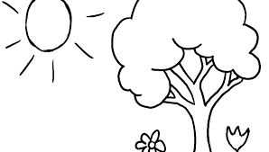 Apple Tree Coloring Page Apple Tree Coloring Pages Free Page