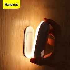 <b>Baseus</b> PIR LED Wall <b>Lamp</b> with Human Induction Motion Sensor ...