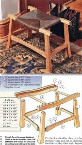 japanese furniture plans. Rush Covered Stool Plans - Furniture And Projects | WoodArchivist.com Japanese ,