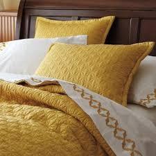 mustard bedding yellow bedding bed