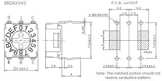 kentec gmbh schalter serie erd6 erd7 von ece excel cell electronic dimensions and circuitry unit mm