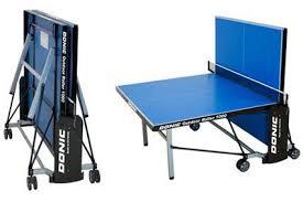 <b>Теннисный стол Donic Outdoor</b> Roller 1000 Blue, всепогодный ...
