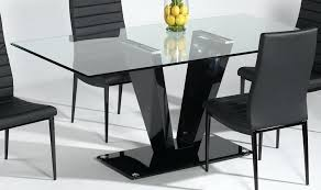 small rectangle glass dining table new top of rectangular square lovely d glass top dining room table