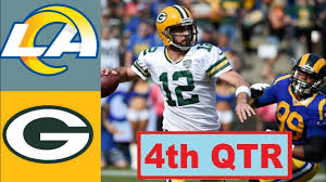 Los Angeles Rams vs Green Bay Packers ...