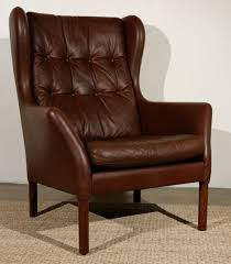 Leather Wingback Chair For Sale Leather Wingback Chairs Surripuinet