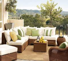 Living Room Chair Cushions Outdoor Wicker Furniture Cushions Design Outdoor Furniture For
