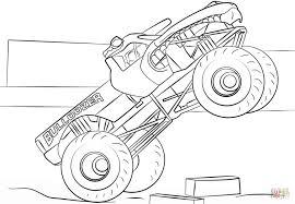 Bulldozer Monster Truck Kleurplaat Gratis Kleurplaten Printen Idee