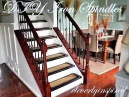replace stair railing. Railing Spindles Replace Stair Cost Awesome Iron Staircase Throughout Ideas 6 W