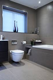 grey floor tile ideas gray chic gray bathroom white cabinets with bbcccbbadebbf