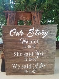 rustic wood wedding signs wedding plan