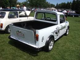 File:1964 Mini pickup truck rear (5967269045).jpg - Wikimedia Commons