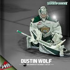 WHL GOALIE OF THE WEEK // Dustin Wolf – Everett Silvertips