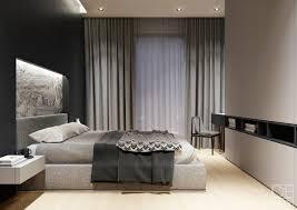 Black And Gray Bedroom Interior Design Ideas
