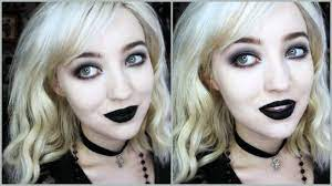 goth makeup for beginners simple