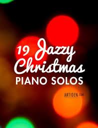 19 Jazzy Christmas Piano Solos Artiden