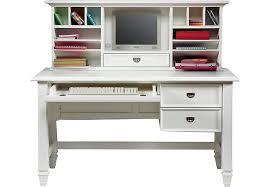 white desk with hutch. White Desk With Hutch E